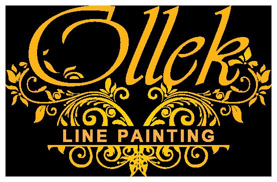 Kamloops line painting